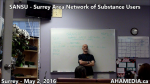 AHA MEDIA at SANSU Surrey Area Network of Substance Users meeting on May 2 2016 (33)