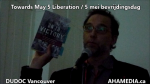 AHA MEDIA sees Towards May 5 Liberation  5 mei bevrijdingsdag by Irwin Oostindie on May 5 2016 in Vancouver  (18)