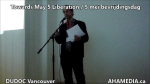 AHA MEDIA sees Towards May 5 Liberation  5 mei bevrijdingsdag by Irwin Oostindie on May 5 2016 in Vancouver  (26)