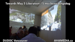AHA MEDIA sees Towards May 5 Liberation  5 mei bevrijdingsdag by Irwin Oostindie on May 5 2016 in Vancouver  (62)