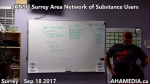 1 SANSU Surrey Area Network of Substance Users meeting on Sep 18 2017(31)