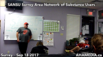 1 SANSU Surrey Area Network of Substance Users meeting on Sep 18 2017(5)