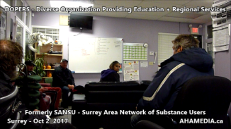 DOPERS formerly SANSU Surrey Area Network of Substance Users meeting on Oct 16 2017 (7)