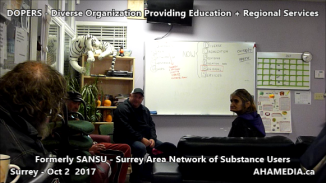 DOPERS formerly SANSU Surrey Area Network of Substance Users meeting on Oct 16 2017 (8)
