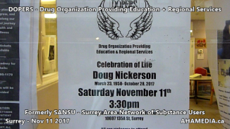 Celebration of Life for Doug Nickerson of SANSU and DOPERS on Nov 11 2017 (1)