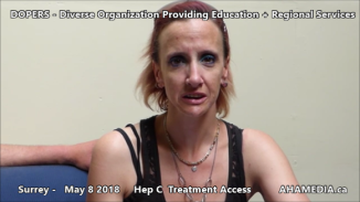 Danny and Cheri Hep C treatment access interview on May 8 2018 (3)