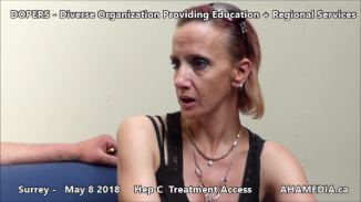 Danny and Cheri Hep C treatment access interview on May 8 2018 (4)