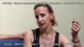 Danny and Cheri Hep C treatment access interview on May 8 2018 (7)