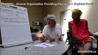 DOPERS WOMEN's Meeting in Surrey on May 15 2018 (5)