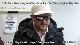 Lorretta and Doug Hep C treatment access interview on May 8 2018 (10)