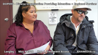 Lorretta and Doug Hep C treatment access interview on May 8 2018 (4)