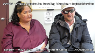 Lorretta and Doug Hep C treatment access interview on May 8 2018 (5)