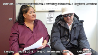 Lorretta and Doug Hep C treatment access interview on May 8 2018 (6)
