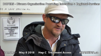 Lorretta and Doug Hep C treatment access interview on May 8 2018 (8)