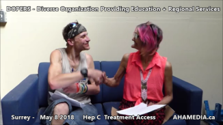 Stephen and Grace Hep C treatment access interview on May 8 2018 (3)