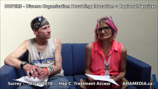 Stephen and Grace Hep C treatment access interview on May 8 2018 (4)
