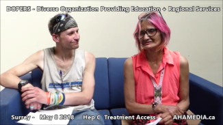 Stephen and Grace Hep C treatment access interview on May 8 2018 (5)
