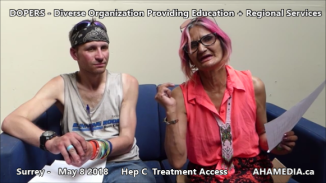 Stephen and Grace Hep C treatment access interview on May 8 2018 (6)