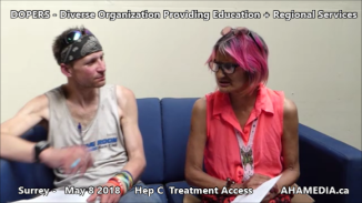 Stephen and Grace Hep C treatment access interview on May 8 2018 (7)