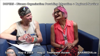 Stephen and Grace Hep C treatment access interview on May 8 2018 (8)