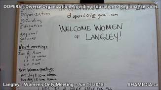 DOPERS WOMEN's Meeting in Langley on Jun 13 2018 (2)