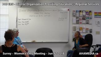DOPERS WOMEN's Meeting in Surrey on Jun 12 2018 (4)
