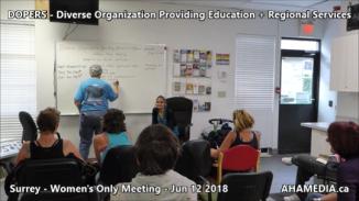 DOPERS WOMEN's Meeting in Surrey on Jun 12 2018 (8)