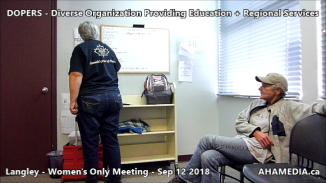 DOPERS WOMEN's Meeting in Langley on Sep 12 2018 (2)