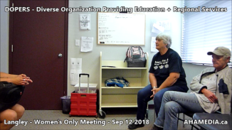 DOPERS WOMEN's Meeting in Langley on Sep 12 2018 (3)