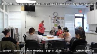 DOPERS WOMEN's Meeting in Surrey on Sep 11 2018 (10)