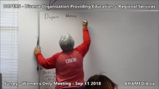 DOPERS WOMEN's Meeting in Surrey on Sep 11 2018 (3)
