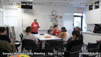 DOPERS WOMEN's Meeting in Surrey on Sep 11 2018 (6)