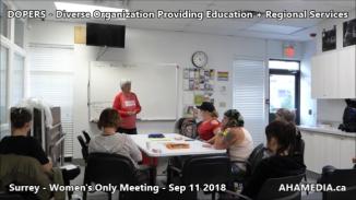 DOPERS WOMEN's Meeting in Surrey on Sep 11 2018 (7)