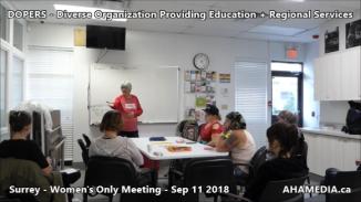 DOPERS WOMEN's Meeting in Surrey on Sep 11 2018 (9)