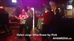 In loving memory of Helen singing Karaoke(3)