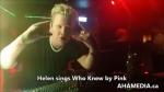 In loving memory of Helen singing Karaoke(4)