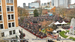 AHA MEDIA films at Remembrance Day 2019 in Victory Square, Vancouver(14)